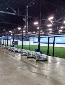 "1/2"" Glass soccer field, Outside View"